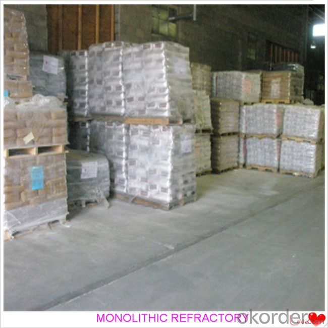High Duty Castable For Fireplace and Industrial Furnace Cement Industry