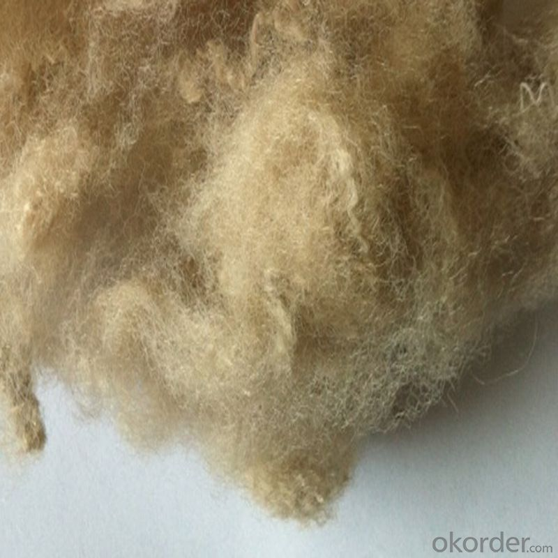 3DX64MM PET Saple Fiber for Filling and Fabric
