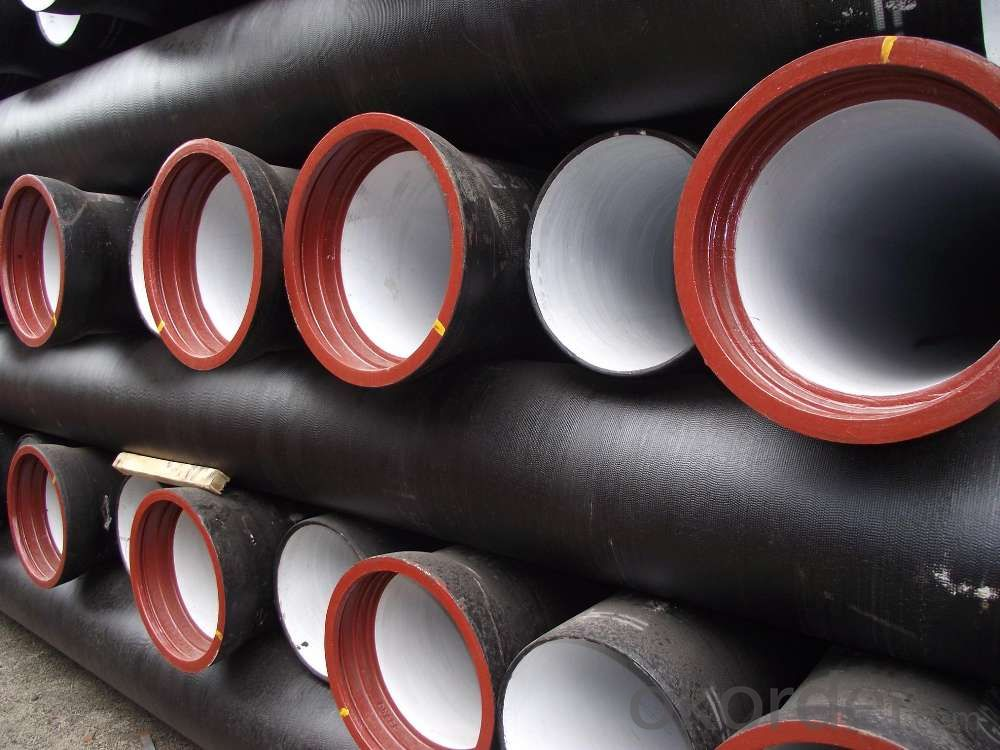 Ductile Iron Pipe Hardness: 230 Material: Cast Iron