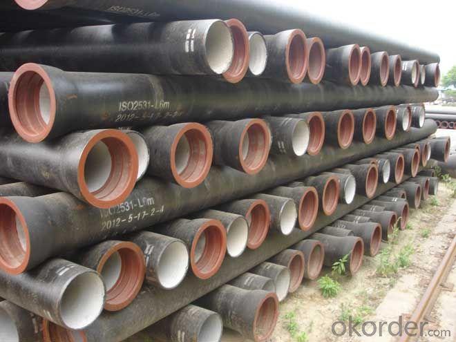 Ductile Iron Pipe DN80~DN1600 EN545/EN598