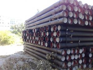 Ductile Iron Pipe ISO2531 / EN545 / EN598 K9 DN100-DN800