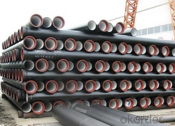 Ductile Iron Pipe From DN80-DN2000 Length: 6M/NEGOTIATED