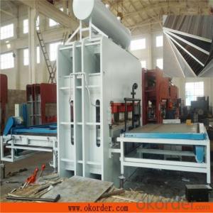 1600T Short Cycle Melamine Laminating Veneer Hot Press Machine