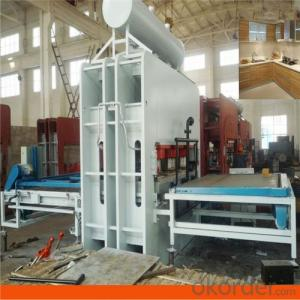 2400 Ton 6 by 12 Feet Short Cycle Lamination Press Machine
