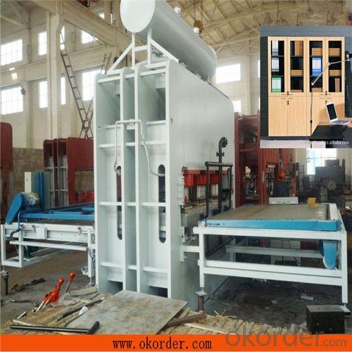 CE Certificate Semi-auto Veneer Heat Press Machine