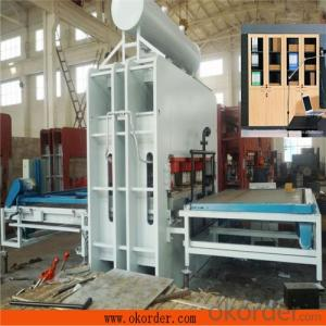 CE Certificate Semi-auto Veneer Heat Press Machine