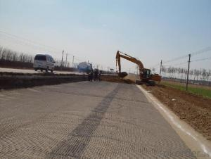 Fiberglass geogrid for Airport road protection- Hot sell
