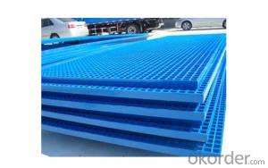 Fiberglass FRP Phenolic Molded and Pultruded Grating with Modern Shape/ All kinds of Colors