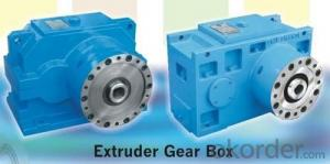 Plastic Extruder Reduction Gearbox For Single Screw Extruder