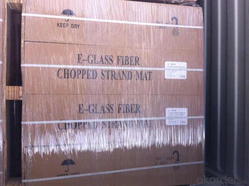 E Glass Fiber Chopped Strand Mat With Emulsion Binder Bonded