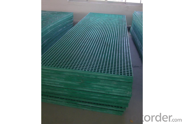 Fiberglass FRP Phenolic Molded and Pultruded Grating with Good Shape
