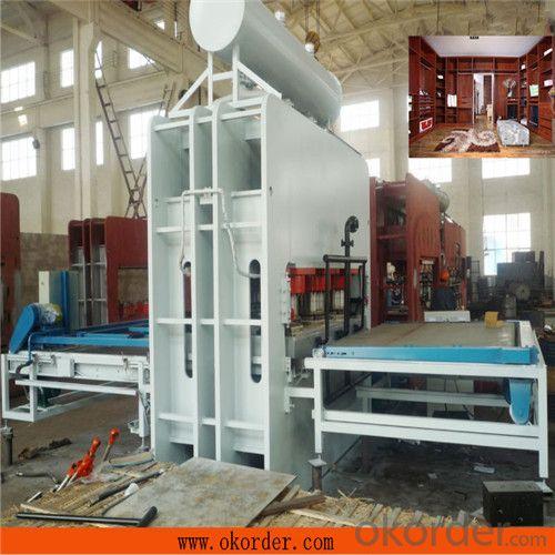 Short Cycle Plywood Lamination Press Machine 1600t Hydraulic Hot Press Machine