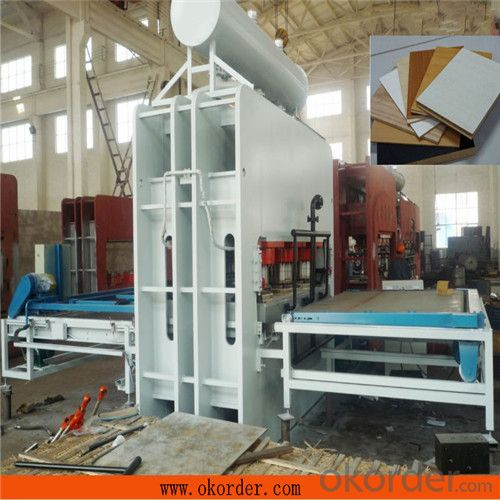 Short Cycle Hot Press Machine for HDF Flooring