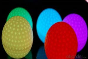 LED Golf Ball Flashing Golf Ball