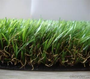 High Traffic Eco Landscaping Synthetic Grass Turf CE