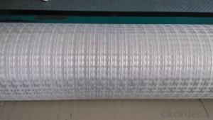 Warp Knitting Fiberglass geogrid - High quality geogrid