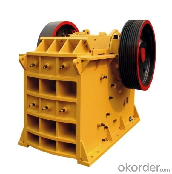 Convenient Maintenance High-Efficiency Ore Jaw Crusher Good Reputation Stone Jaw