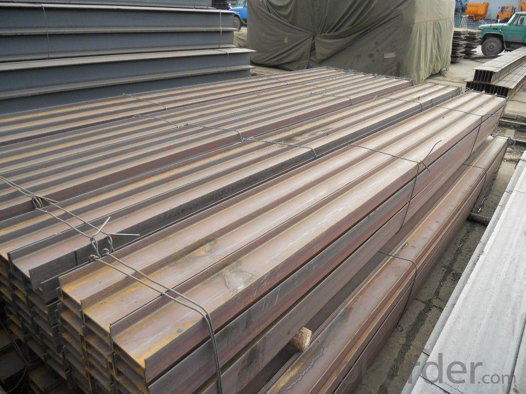 JIS Standard SS400 H beams with High Quality 100mm-150mm