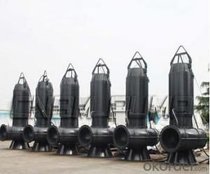 JY(P)WQ Auto-stirring Sewage Submersible Pump