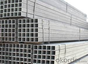 Black Rectangular Hot Rolled Steel Pipe With Good Quanlity