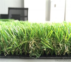 Green Turf Landscaping Artificial Grass For Villa