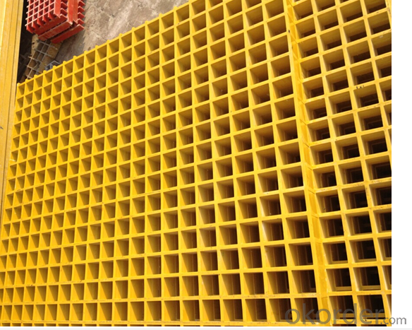 FRP Grating, FRP Molded Grating, FRP Fiberglass Plastic Walkway Grating with Modern Shape