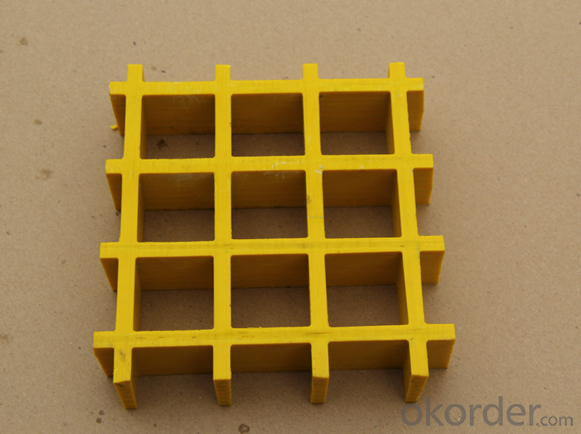 FRP Grating/ Fiberglass Solid Grille/Water Resistance Steel Grating with  Various of Colors