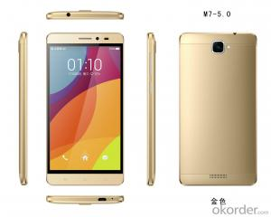 5.0inch 4G LTE  M7 Smartphone MT6735M Quad-core 2MP Front Camera 5MP Back Camera