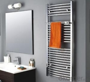 Chromium-plated Rails Towel Warmer, Fashion Design