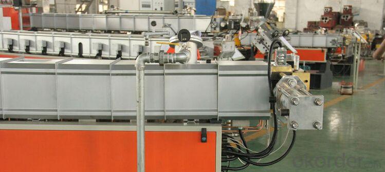 Plastic extruder/Plastic pvc pipe production line/PVC Pipe Extrusion Line/PVC pipe making machine