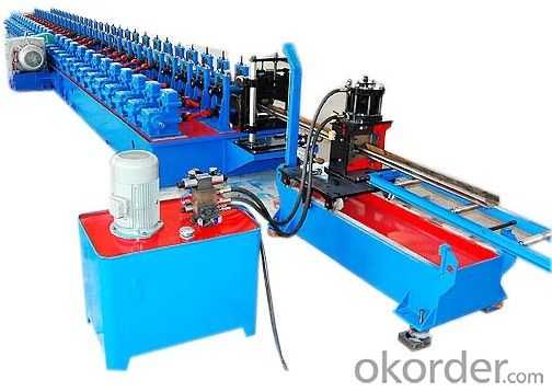 Metal Plank Profiles Roll Forming Machine