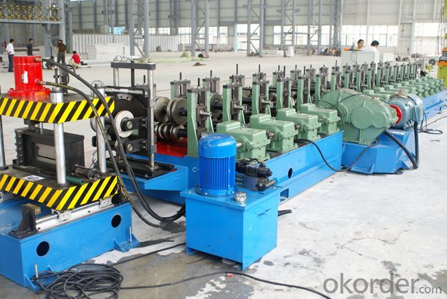 Anode Plate Profile Roll Forming Machine