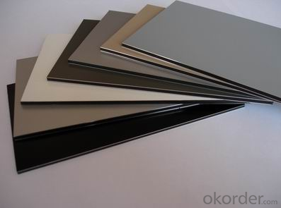 ALUMINUM PE COMPOSITE PANEL  ORIGINAL CORLOR