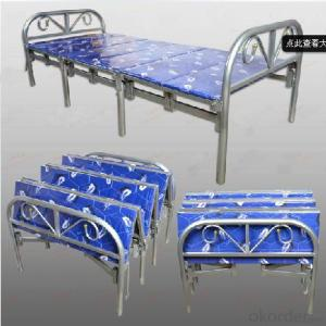 Folding Metal Bed, Simple and Esay to Carry