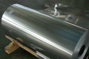 Aluminium Foil with Laminated Fire Protection