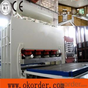 Two Layers Hot Press Machine Made in China
