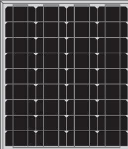 Mono Panel 45w and 50w   CNBM Solar Monocrystalline 125mm Series