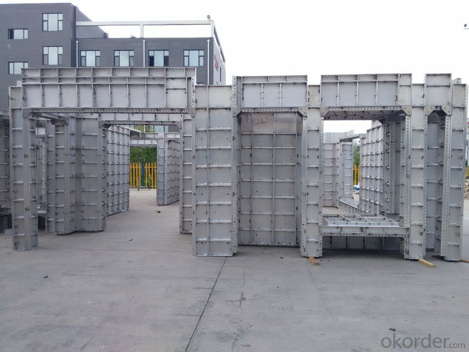 Aluminum Formwork for One Level House Building
