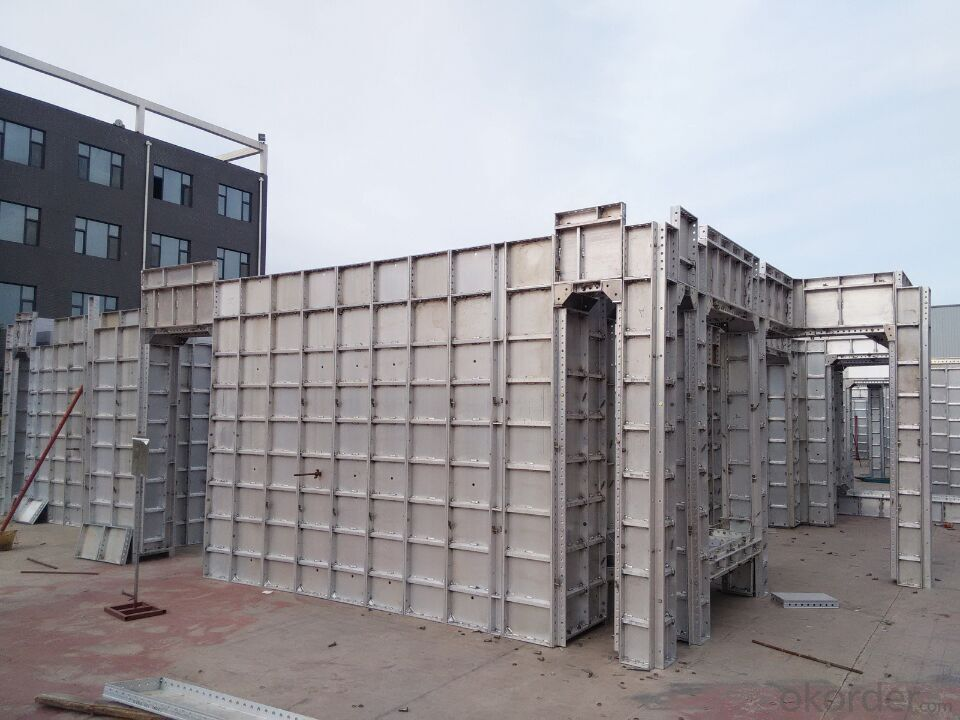 Construction Application Aluminum Formwork with Short Time Assemblying