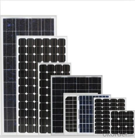 Solar panel mono125 80W 120W new energy solar product