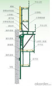 Auto-Climbing Formwork from High Bridge Construction