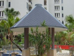 Fish Scale  Fiberglass Asphalt Roof Shingle
