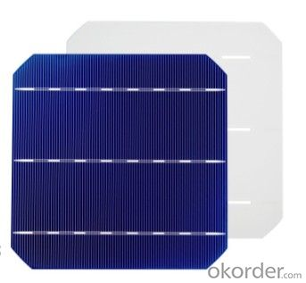 156*156MM MONOCRYSTAL SOLAR CELL WITH 4.42 WATT HIGH EFFICIENCY