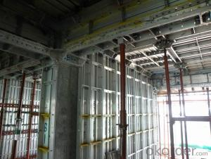 Whole Aluminum Formwork System in Asian Market