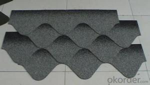 Fish Scale  Fiberglass Asphalt Roof Shingle