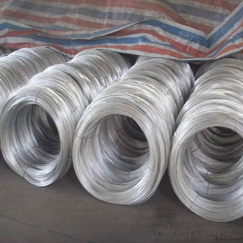 CNBM Hot Dipped Zinc Coating Iron Wire Own Factory for 0.3mm to 7mm