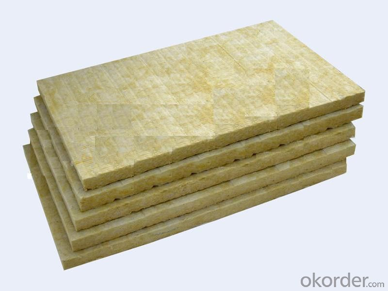 Exterior Wall Hydrophobic Waterproof rock wool insulation board