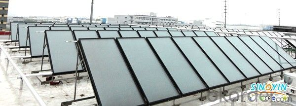 Flat Plate EPDM Solar Thermal Collector Used for Pool Heating Water