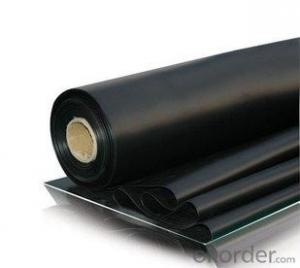 EPDM Coiled Rubber Waterproof Membrane with Customized Thickness for Road