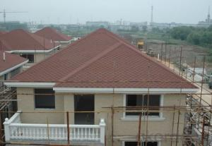 Durable Bent Interlocking Asphalt Roofing Tiles
